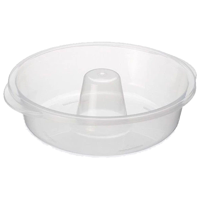 Forma De Pudim Plástico Microondas Redonda Resistente - 143