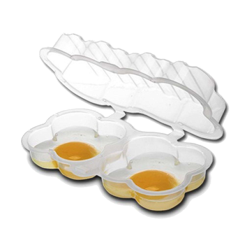 Forma Para Ovo Omelete Omeleteira Microondas Cozinhar 2 em 1 - 145