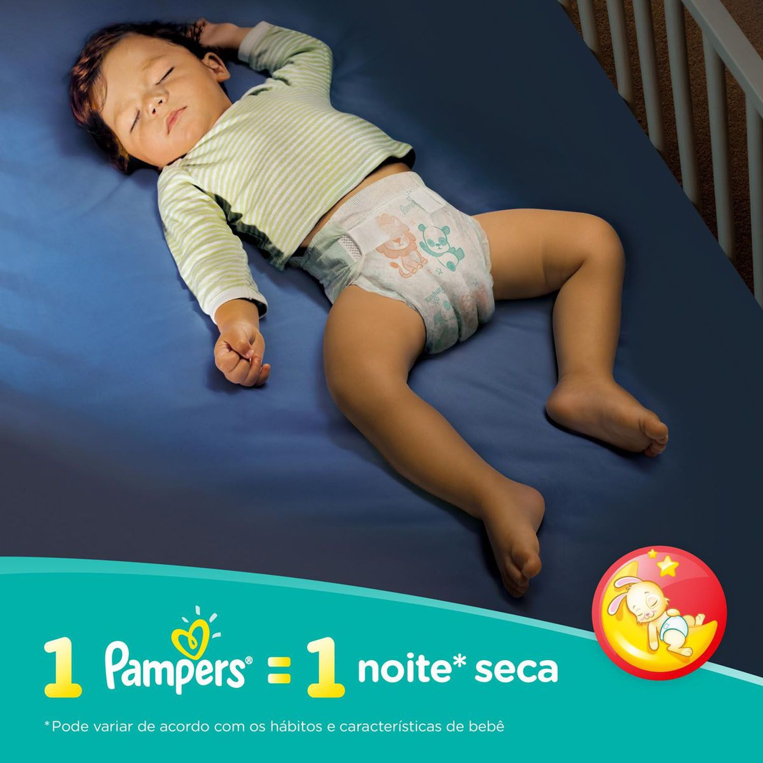Fralda Pampers Supersec G Com 26 Unidades