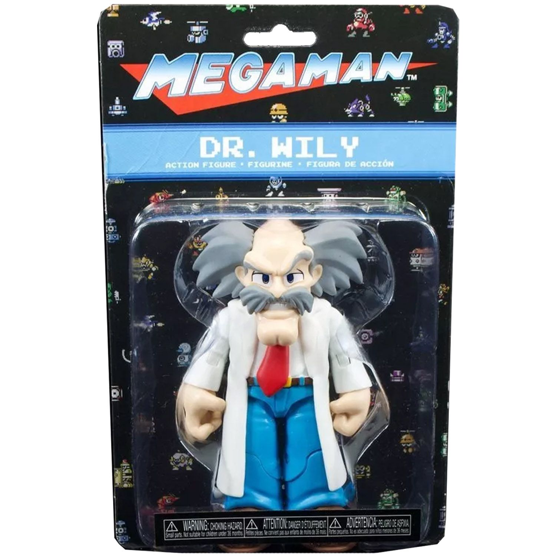 Funko Mega Man Dr Wily Articulado Action Figure Original