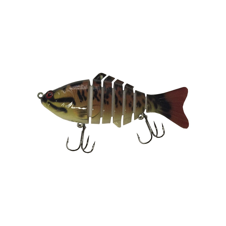 Isca Artificial Articulada 6 Sessões Lambari 10cm Pesca