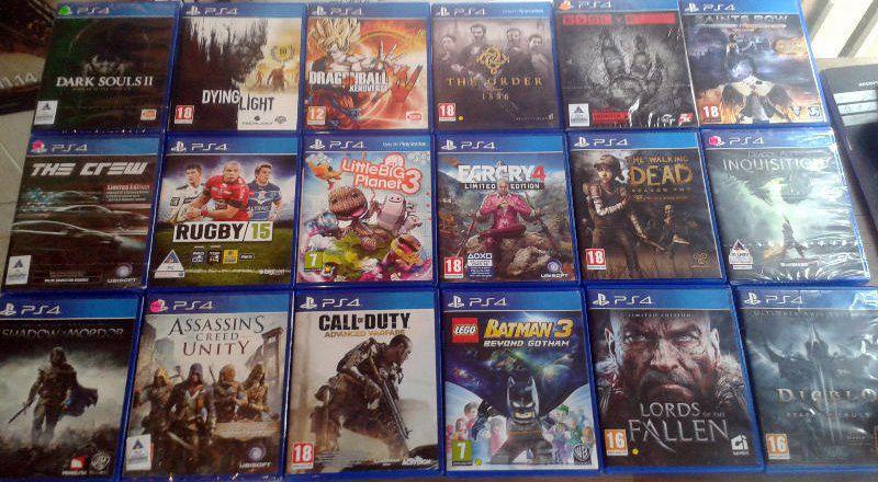 Jogos PS4 Midia Fisica Usados Originais Games Baratos