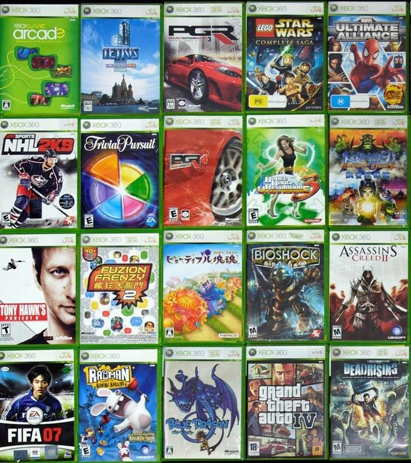 Jogos Xbox 360 Midia Fisica Usados Originais Games GTA PES FIFA