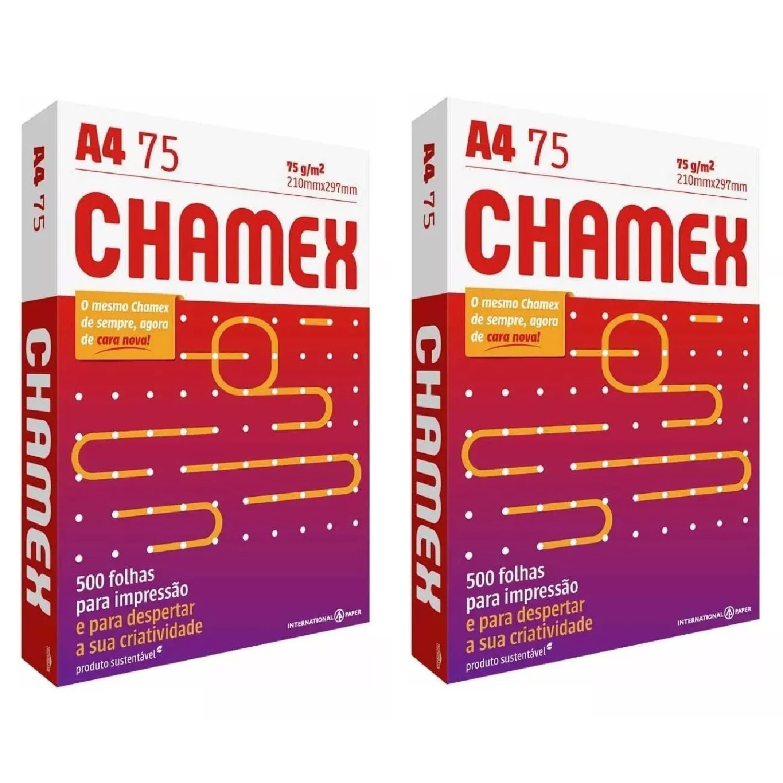 Papel Sulfite A4 Caixa 1000 Folhas Chamex Office