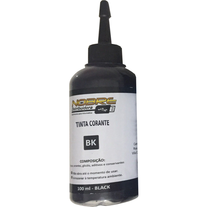 Kit 4 Cores Tinta Corante 100ml Para Uso Epson Bulk Ink