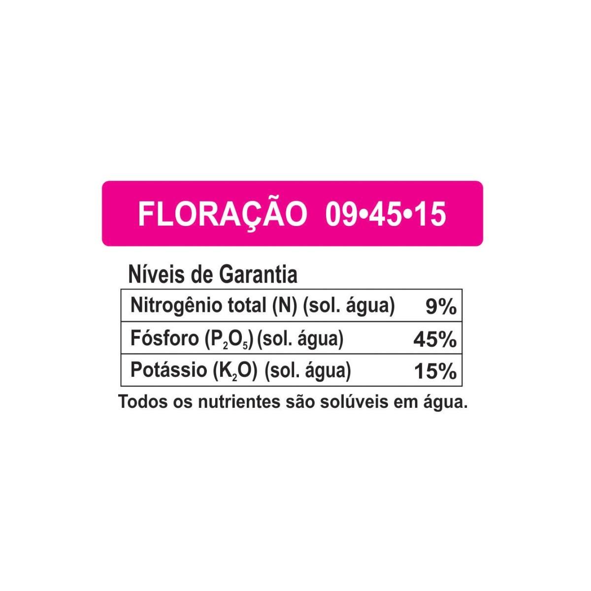 Kit Fertilizante Forth Orquídea Manutenção Floração Crescimento Cote Plus 5M 15-09-12 400g