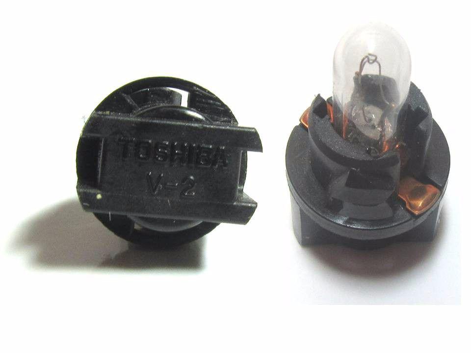 Lampada Toshiba V2 V-2 Preta Socket T5 Original Honda Toyota