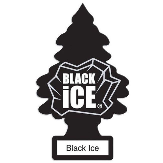 Little Trees Aromatizante Black Ice Car Air Freshener Automotivo