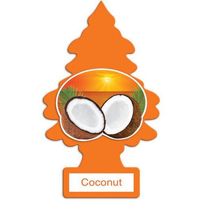Little Trees Aromatizante Coconut Car Air Freshener Automotivo