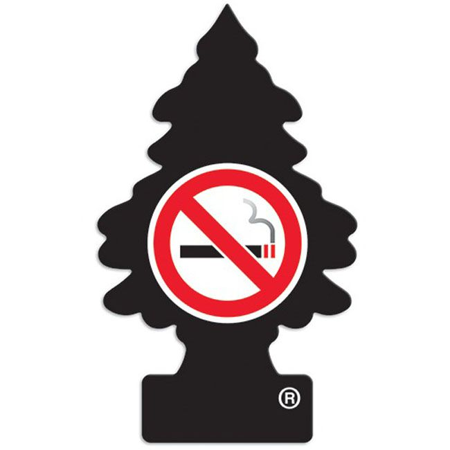 Little Trees Aromatizante No Smoking (Crisp'n Cool) Car Air Freshener Automotivo