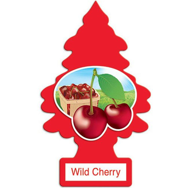 Little Trees Aromatizante Wild Cherry Car Air Freshener Automotivo