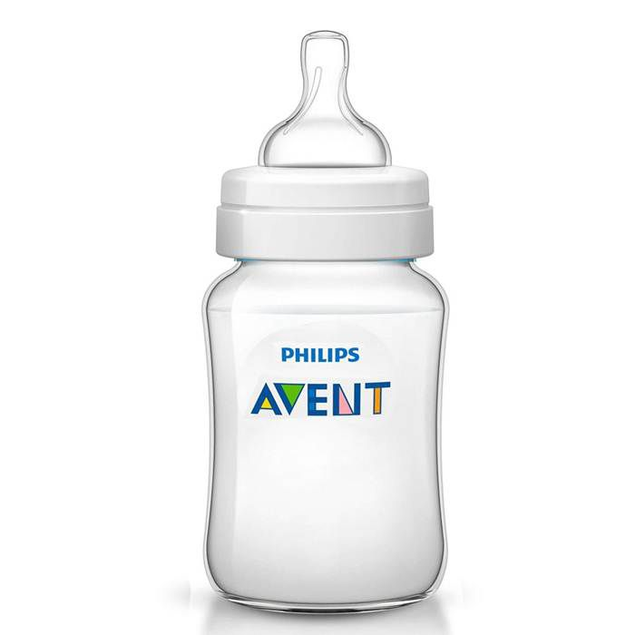 Mamadeira Classica 260ml 9oz Philips Avent Anti-Colica 1m+