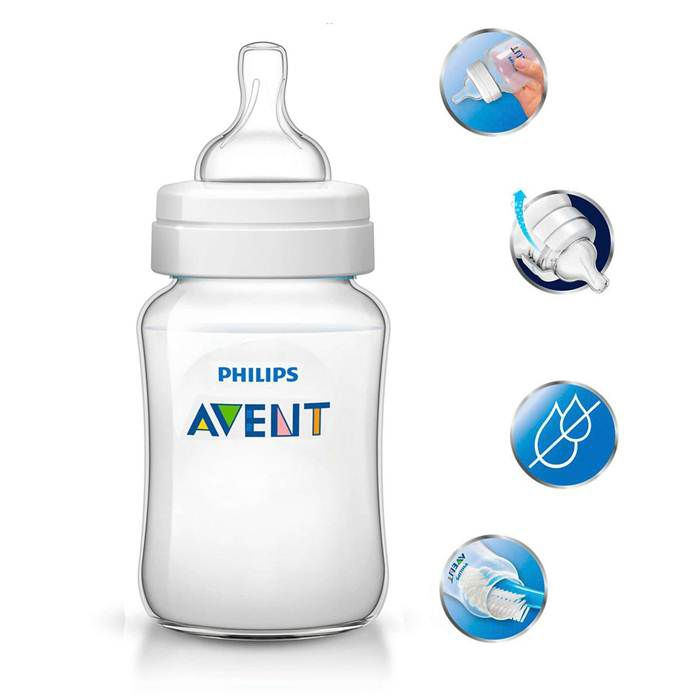 Mamadeira Classica 330ml 11oz Philips Avent Anti-Colica 3m+