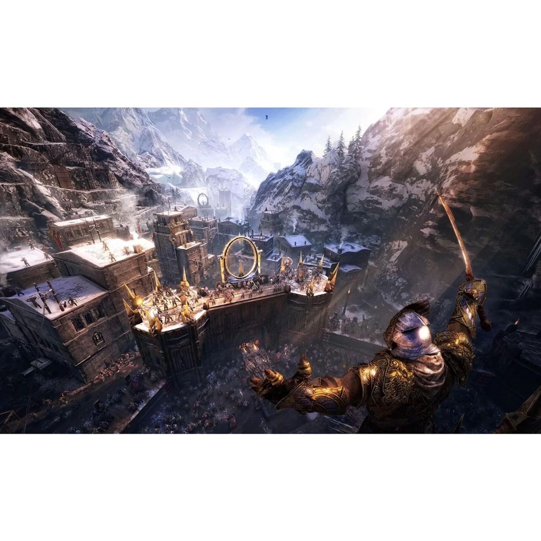 Middle-Earth Shadow Of War Mídia Física Original PS4 Lacrado