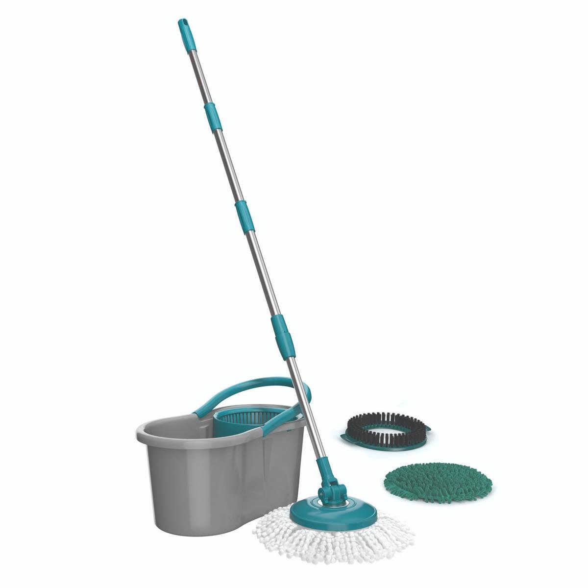 Mop Giratório Flash Limp Fit 3 Em 1 MOP9379