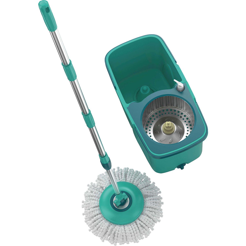 Mop Giratório Pro Balde Com Centrifuga Aço Cabo Dispenser - 7824