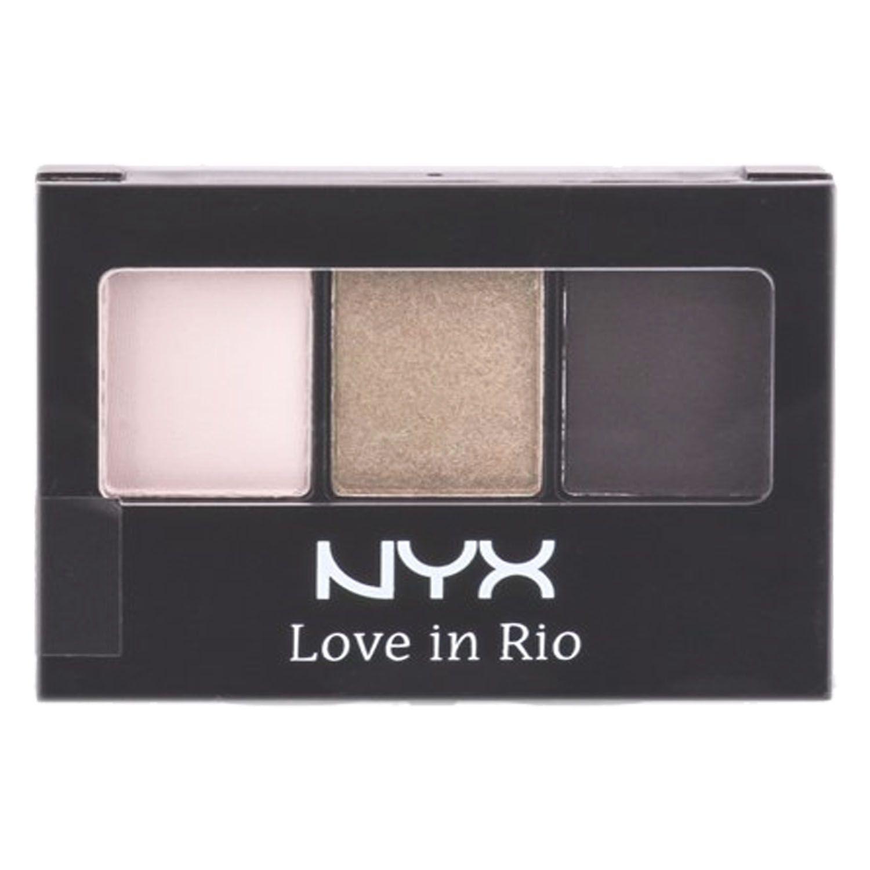Paleta de Sombras 3 Cores Love In Rio Maquiagem Nyx