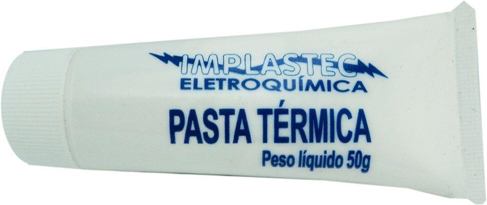 Pasta Termica Bisnaga 50g Implastec Processador