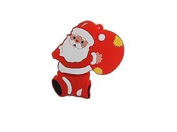 Pen Drive Natalino Papai Noel 4Gb