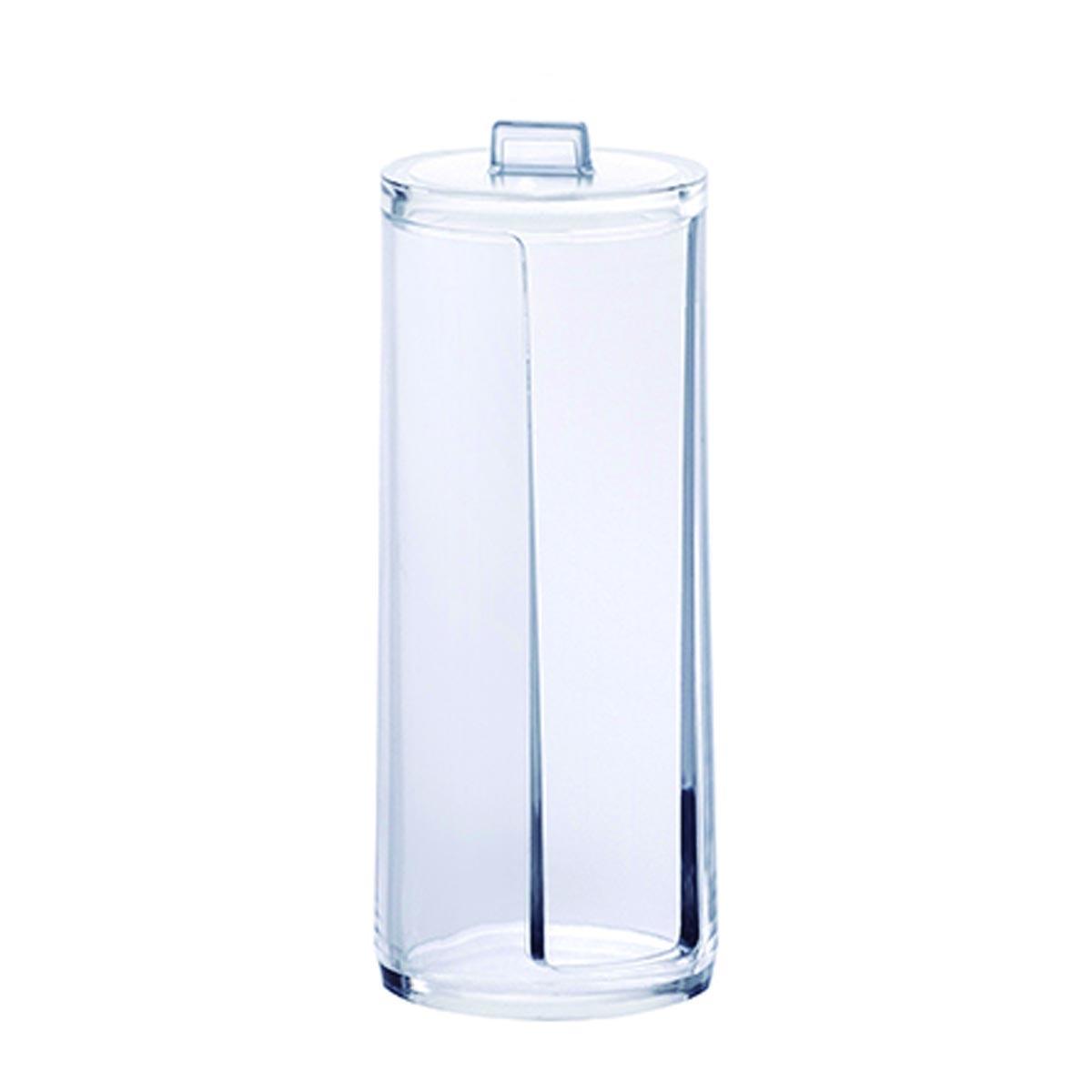 Porta Algodão Paramount Plásticos Redondo 7,5 x 19,5 cm - 12