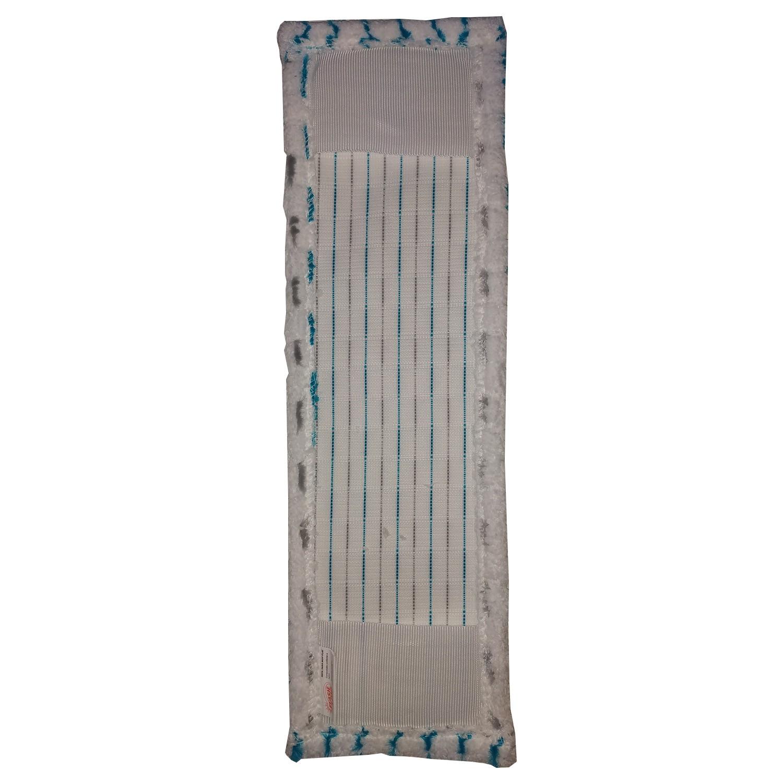 Refil De Microfibra Para Mop Flat Plus Lavável Limpa Vidros