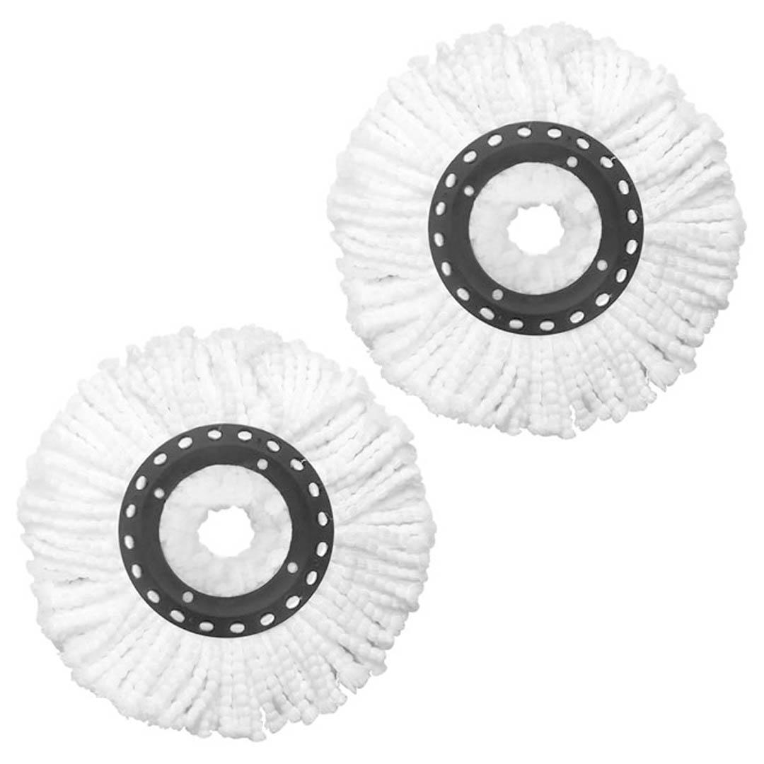 Refil De Microfibra Para Mop Giratório 360 Com 02 Peças - UD307