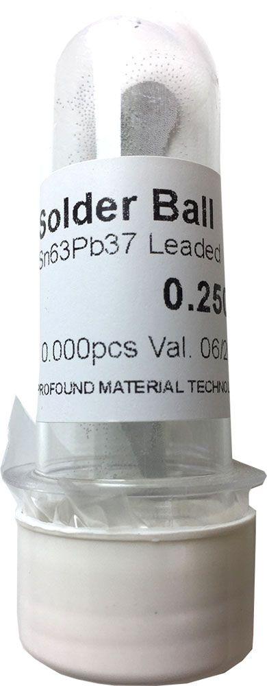 Solda Esfera Bga Pote x 10k 10.000 - 0.25mm (Com Chumbo)