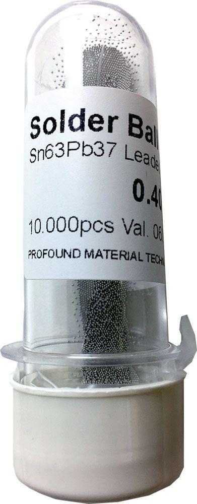 Solda Esfera Bga Pote x 10k 10.000 - 0.40mm (Com Chumbo)