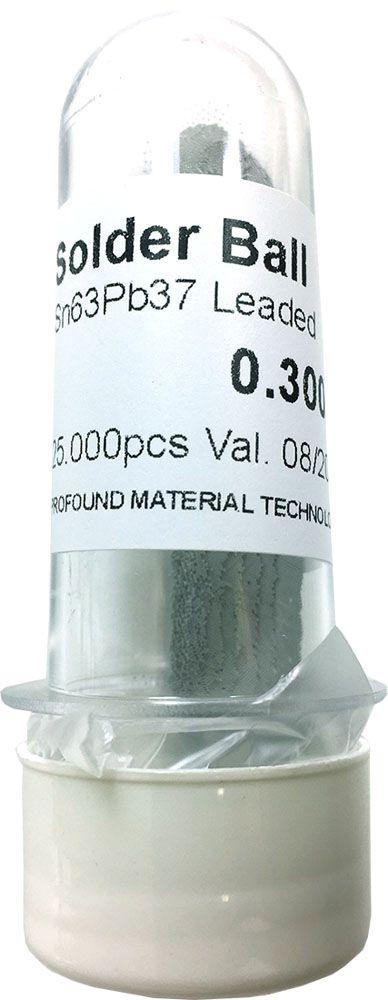 Solda Esfera Bga Pote x 25k 25.000 - 0.30mm (Com Chumbo)