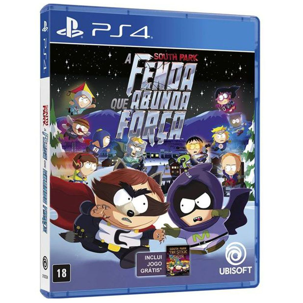 South Park A Fenda Que Abunda Forca Mídia Física PS4 Lacrado