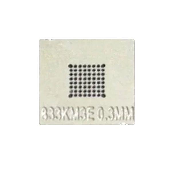 Stencil 833km3e 0.3mm Calor Direto Reballing Bga