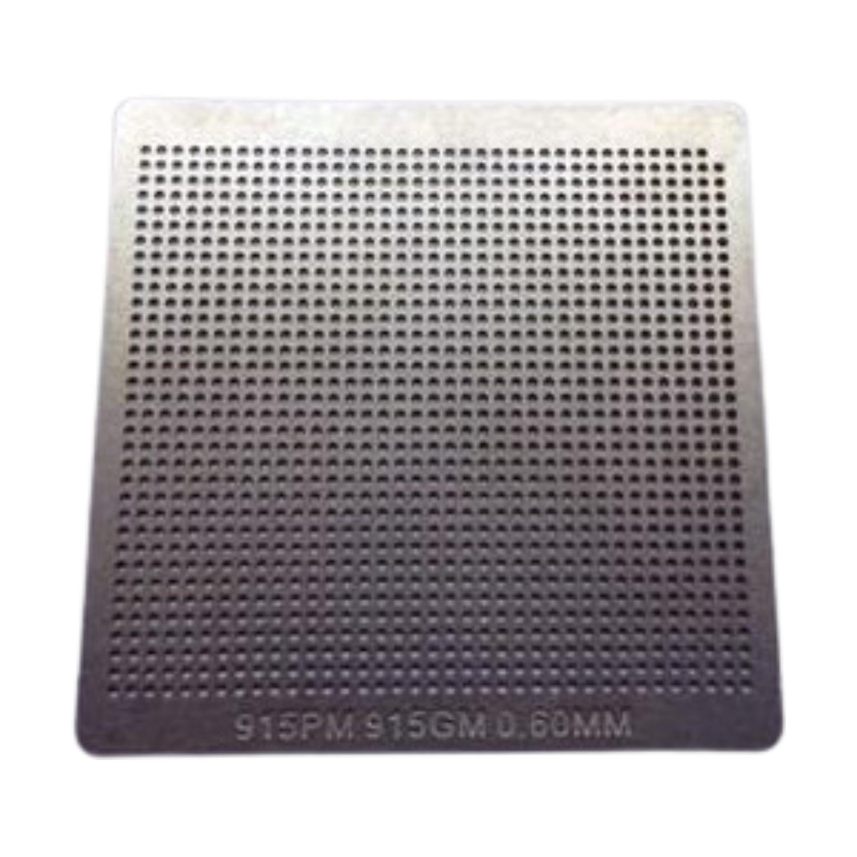 Stencil 915pm 915gm 0.60mm Reballing Bga Calor Direto - G17