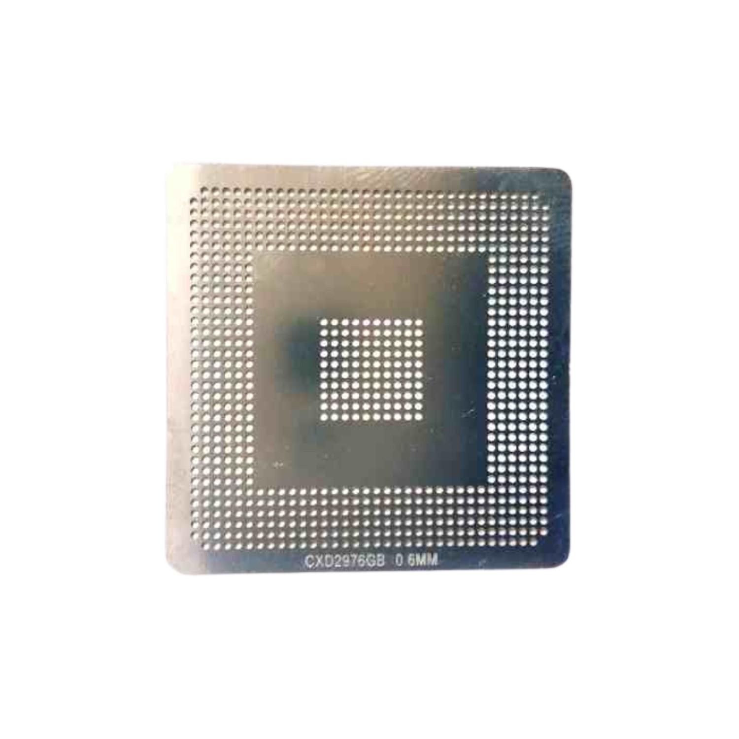 Stencil CXD2976GB 0,6mm Calor Direto Bga Reballing - GM3