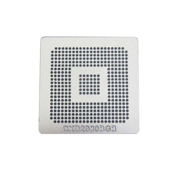 Stencil Cxd2980bgb Cxd29808 0,6mm Calor Direto Reballing Bga