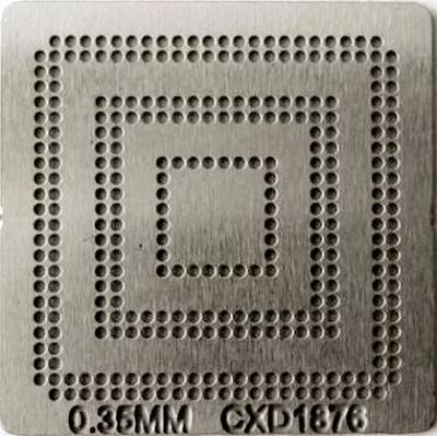 Stencil Cxd-1876-102gg 0,35mm Calor Direto Bga Reballing