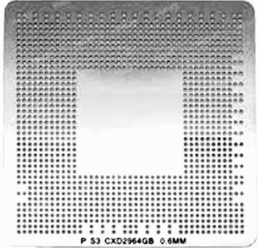 Stencil Cxd-2964gb 0.6mm Calor Direto Bga Reballing