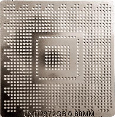 Stencil Cxd-2972gb 0,6mm Calor Direto Bga Reballing