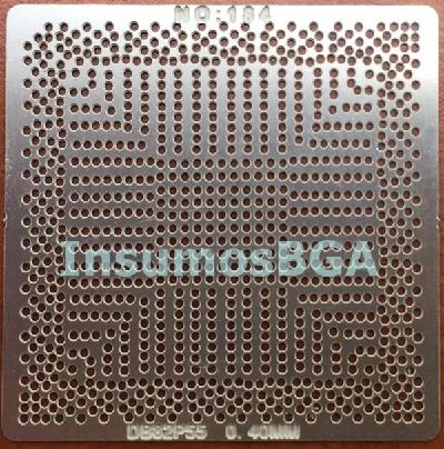 Stencil D882p55 0.40mm Reballing Bga Calor Direto