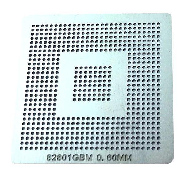 Stencil Intel 82801gbm Bga Calor Direto Reballing