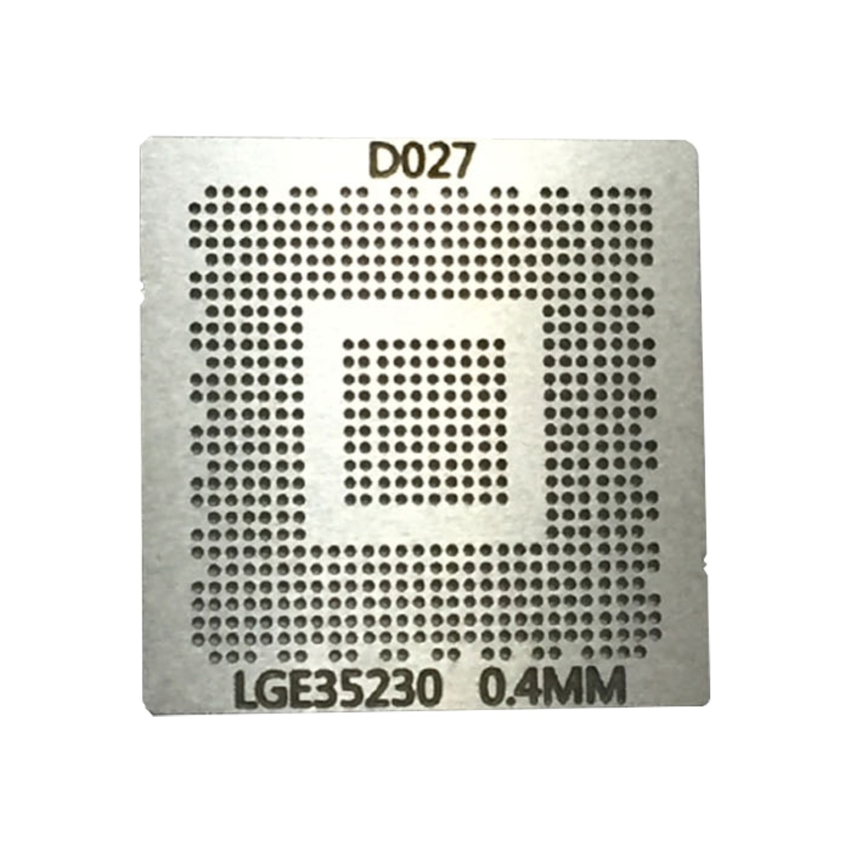 Stencil Lge35230 Calor Direto Lcd Decoder Chip Lg Bga 0.40mm - G28