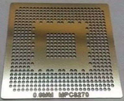 Stencil Mpc8270 0.60mm Reballing Bga Calor Direto