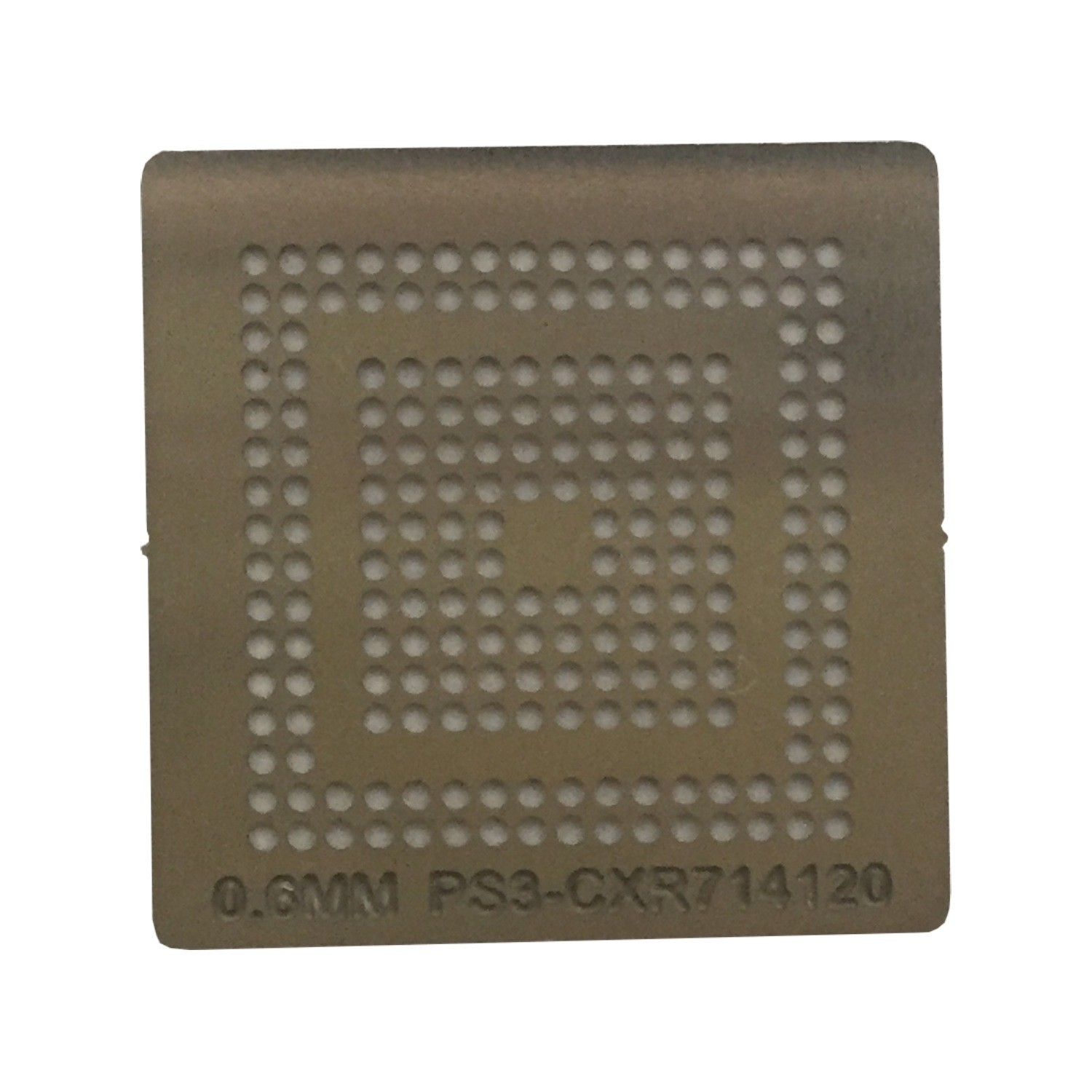 Stencil Ps3 Cxr714120 0,6mm Calor Direto Bga Reballing - GM14