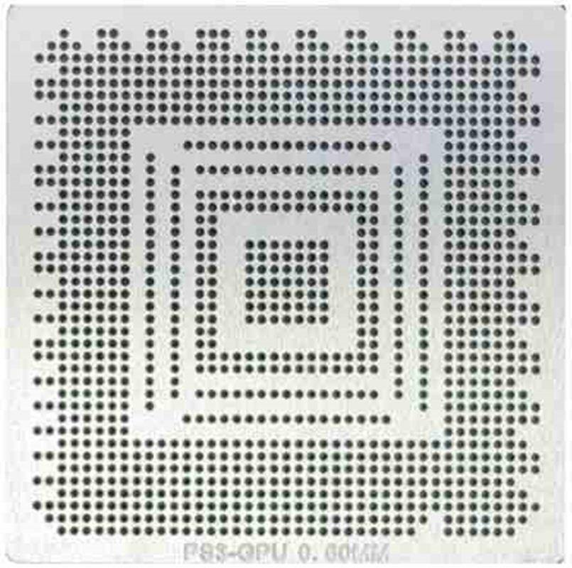 Stencil PS3 GPU RSX CXD2982BGB CXD2971GB 0,60mm - GM14