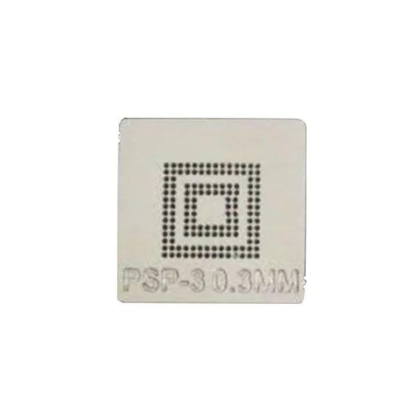 Stencil Psp-3 0,3mm Calor Direto Reballing Bga - GM18