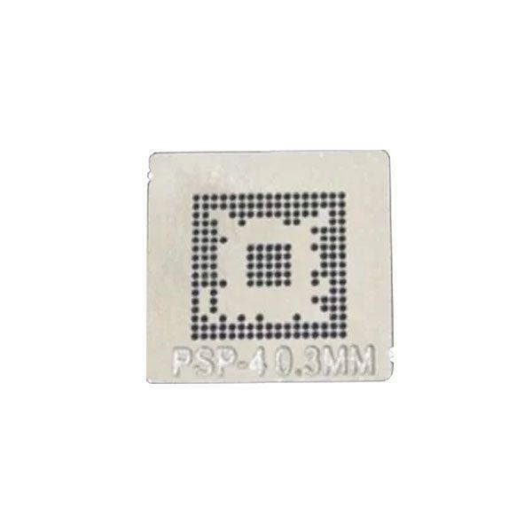 Stencil Psp-4 0,3mm Calor Direto Bga Reballing