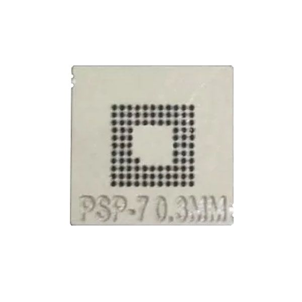 Stencil Psp-7 0,3mm Calor Direto Bga Reballing