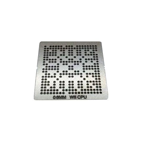 Stencil Wii Cpu 0,6mm Calor Direto Bga Reballing