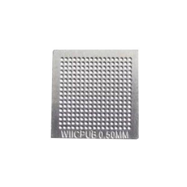 Stencil Wii Cpu B 0,5mm Calor Direto Bga Reballing