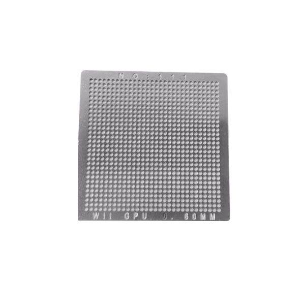 Stencil Wii Gpu 0.6mm Calor Direto Bga Reballing