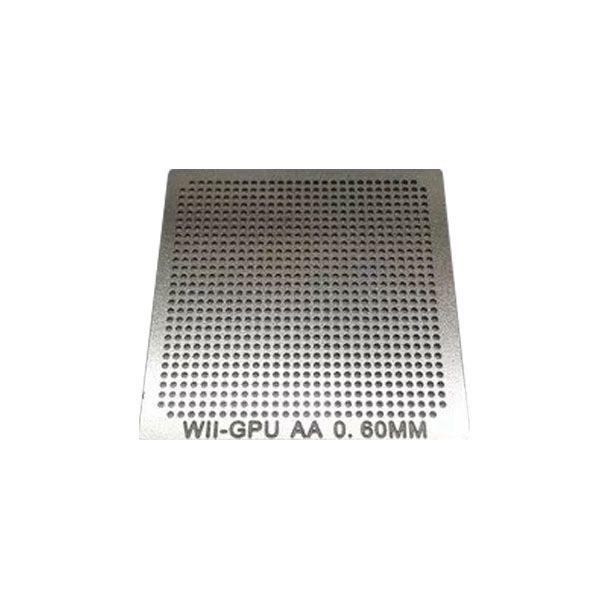 Stencil Wii Gpu Aa 0,6mm Calor Direto Bga Reballing - GM23